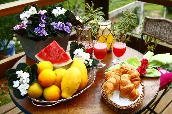 Pousada Boutique Bella Nina: Deliciosos Desayunos!