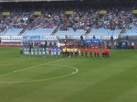 Estadio de Anoeta: Real Sociedad vs Celta Vigo