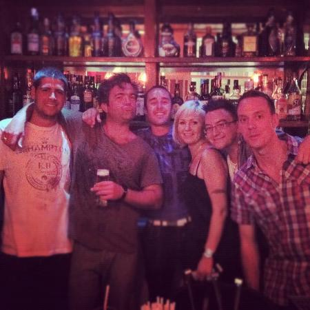 steps bar crew