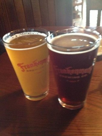 Frankenmuth Brewery : blonde ale and red sky ale
