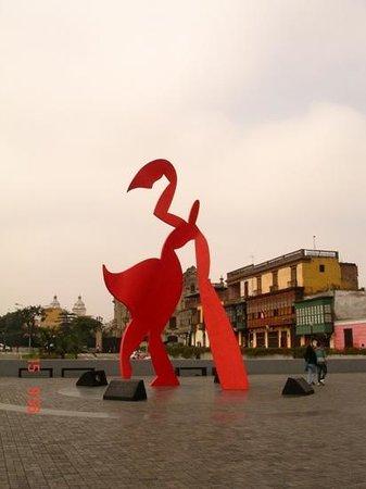 Chabuca Granda Monumento