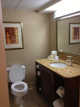 Bathroom Sinks Houston bathroom sink area is excellent! - picture of crowne plaza houston
