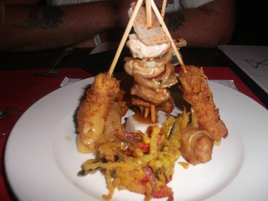 Ocean Maya Royale: Starters at the Japanese