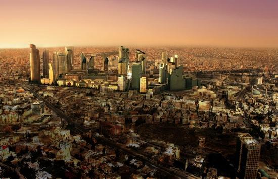 Amman, Jordan: منطقة العبدلي عمان الاردن