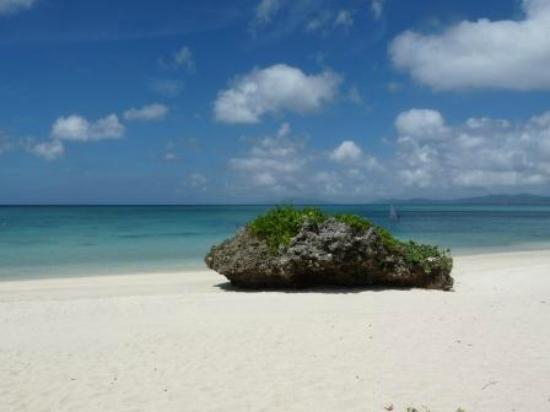 Club Med Kabira Beach: プライベートビーチ