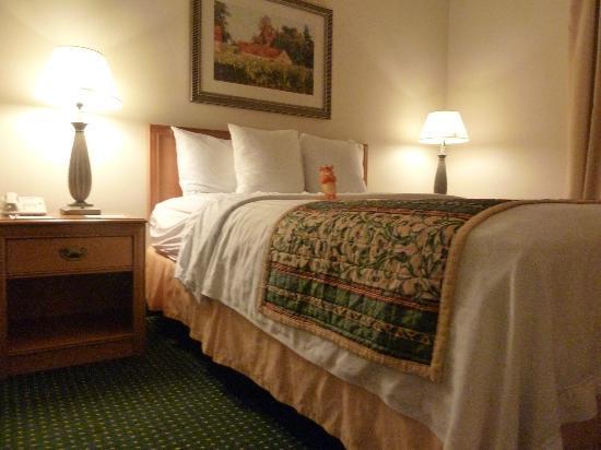 Residence Inn Santa Clarita Stevenson Ranch: Comfy bed
