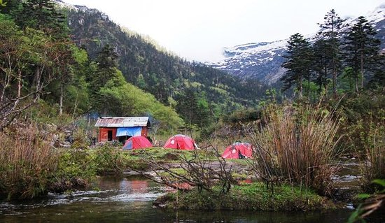 Three Parallel Rivers: camping