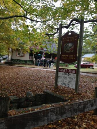 B.F. Clyde's Cider Mill: front sign