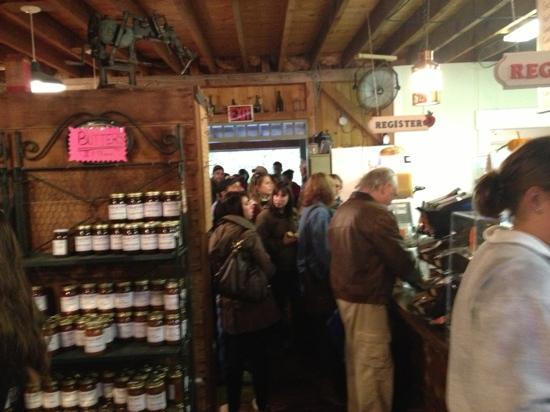 B.F. Clyde's Cider Mill: Line #2 coming in from the front!