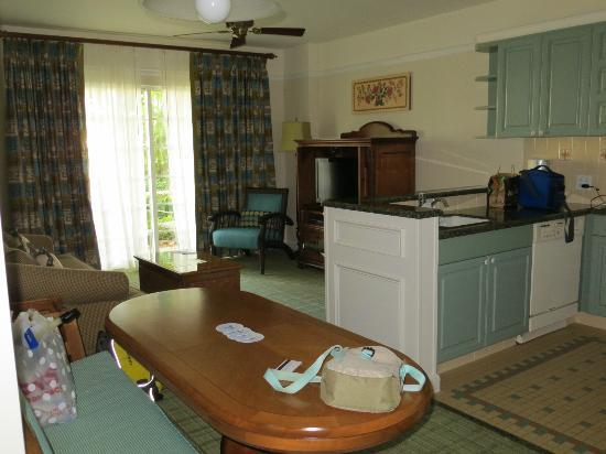 Kitchen And Living Room Picture Of Disney 39 S Saratoga Springs Resort Spa Orlando Tripadvisor