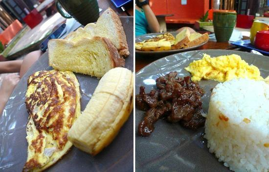 Lazy Dog Bed & Breakfast: Yummy breakfast