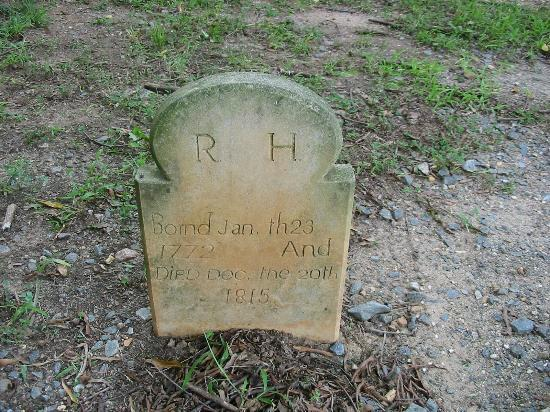 Old Salem Museums & Gardens: Headstone Moravian Church