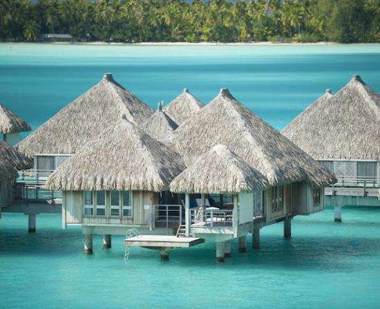 The St. Regis Bora Bora Resort : Deluxe Overwater
