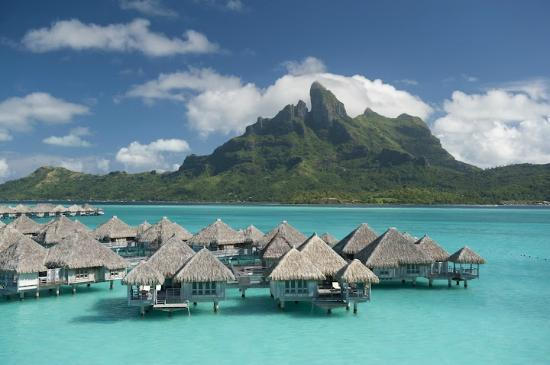 The St. Regis Bora Bora Resort: Resort Aerial photo