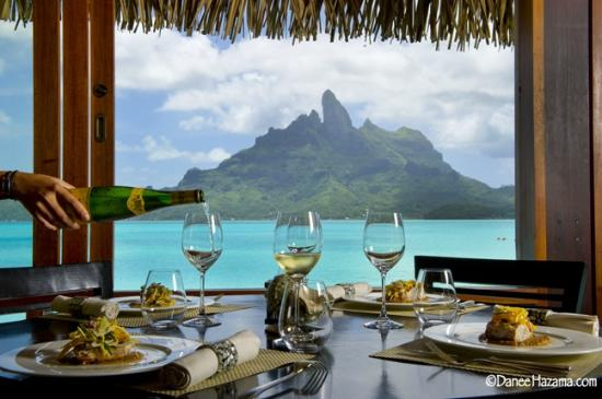The St. Regis Bora Bora Resort: Jean George Dining