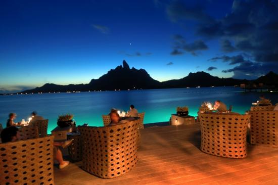 The St. Regis Bora Bora Resort: Jean George Terrace