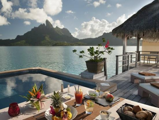 The St. Regis Bora Bora Resort: Royal Overwater Terrace