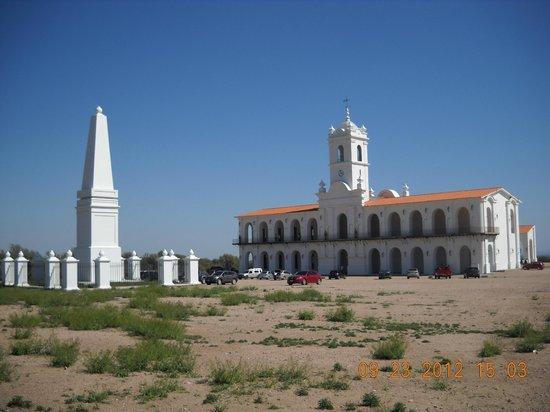 San Luis, Argentina: Vista general Cabildo y Piramide