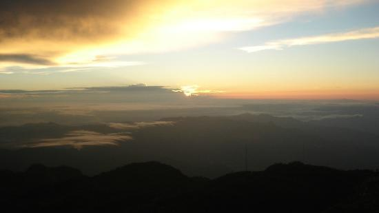 Volcan Baru National Park: What a view of the sun rising