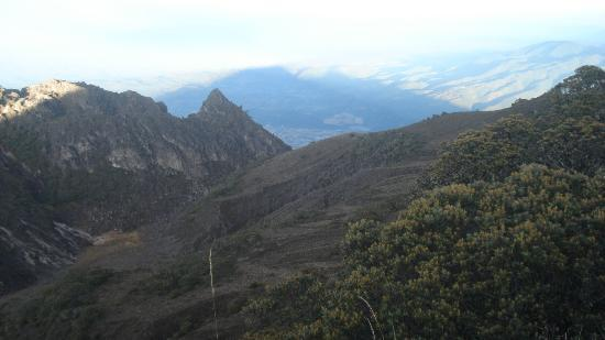 Volcan Baru National Park: We never got tired of the view from atop Baru Volcano