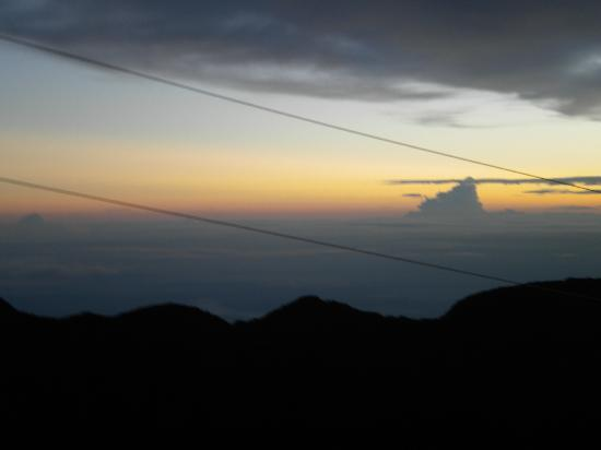 Volcan Baru National Park: The view as the sun was rising