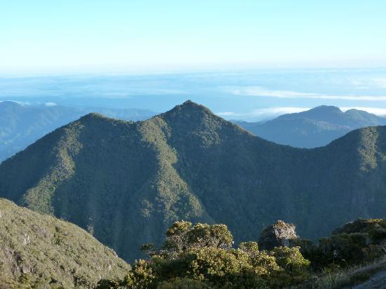 Volcan Baru National Park: Uncanny resemblance to the peak of Huayna Picchu
