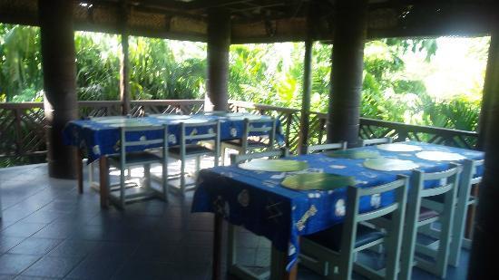 Pasefika Inn: The Breakfast Area