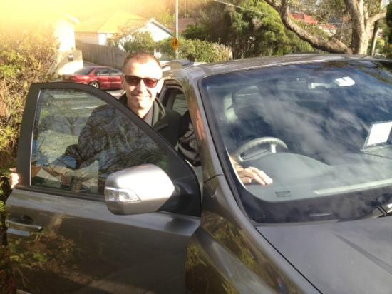 Real Sydney Tours : Nicko just gettijg ready to pick up guests