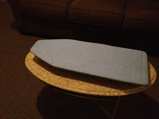 Castleberry Inn & Suites - GA Dome: This is the ironing board they provide in the room.
