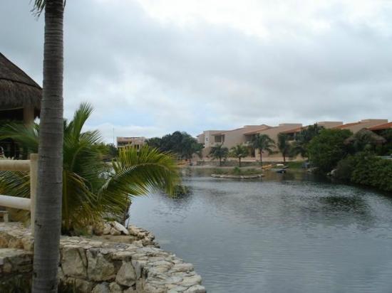 Coral Maya: The marina....