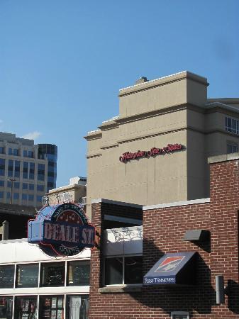 Hampton Inn & Suites Memphis - Beale Street: Hampton is only one short block from Beale Street