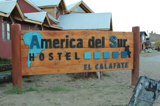 America del Sur Hostel: Fachada do Hostel