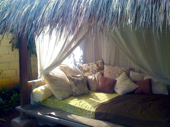Casa Mia BnB Bali Seminyak: Gazebo