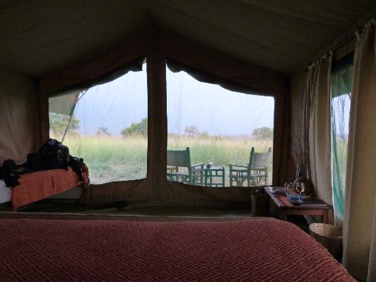 Ubuntu Camp, Asilia Africa: view out from our tent