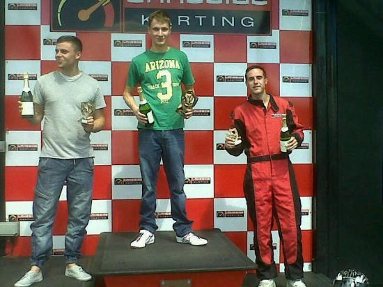 Lakeside Karting: My cousins birthday
