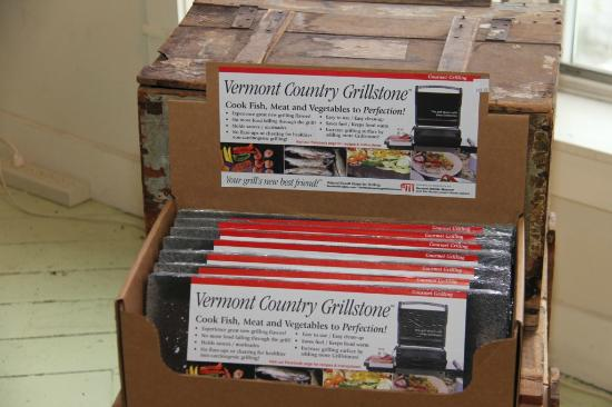 Vermont Marble Museum: Grill Stone $19.99