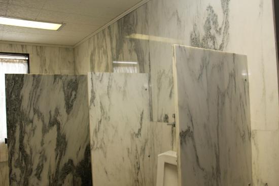 Vermont Marble Museum: Marble Washroom-02