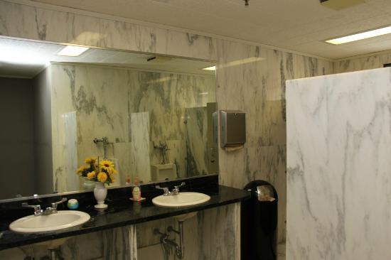 Vermont Marble Museum: Marble Washroom-01