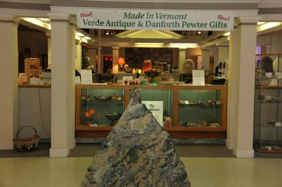 Vermont Marble Museum: Gift Shop Front Entrance