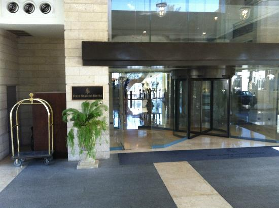 Four Seasons Hotel Amman: Entrance