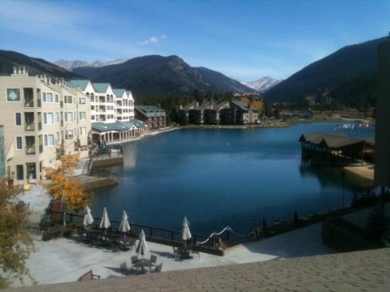 Keystone Lodge & Spa: Lovely view of the Lakeside village from the common roof area