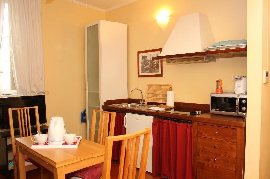 Palazzo Olivia: кухня