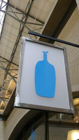 Blue Bottle Coffee Ferry Building: Blue Bottle Coffee sign