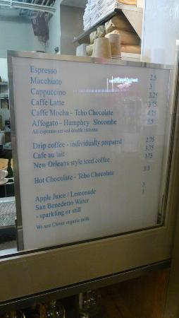 Blue Bottle Coffee Ferry Building: Reasonable coffee prices