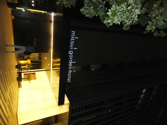 Mitsui Garden Hotel Ginza Premier: hotel entrance