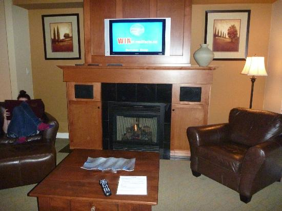 Snowbird Lodge: Lounge room