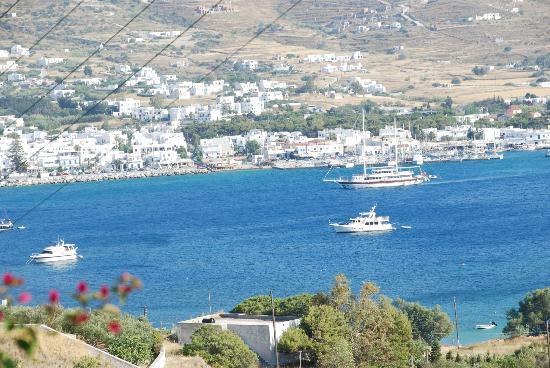 Akrotiri Hotel: Blick auf den Hafen
