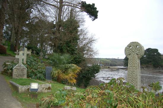St. Just in Roseland Church: The tidal creek