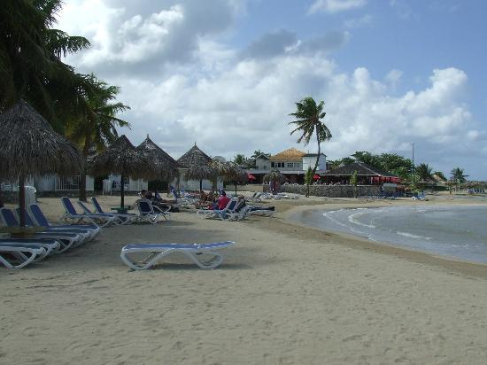 Royal Decameron Club Caribbean : View from jetty