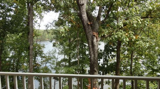 Atlanta Evergreen Marriott Conference Resort: view from balcony
